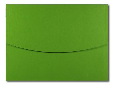Yeşil renkli zarf