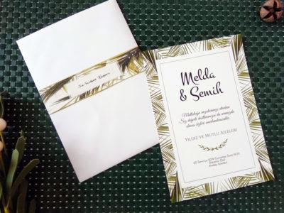 yaprak davetiye